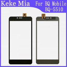 "Mobile Phone Touch Screen Digitizer Panel Glass 5.5"" inch For BQ BQ-5510 Strike Power Max 4G Touch Screen Sensor Repair"