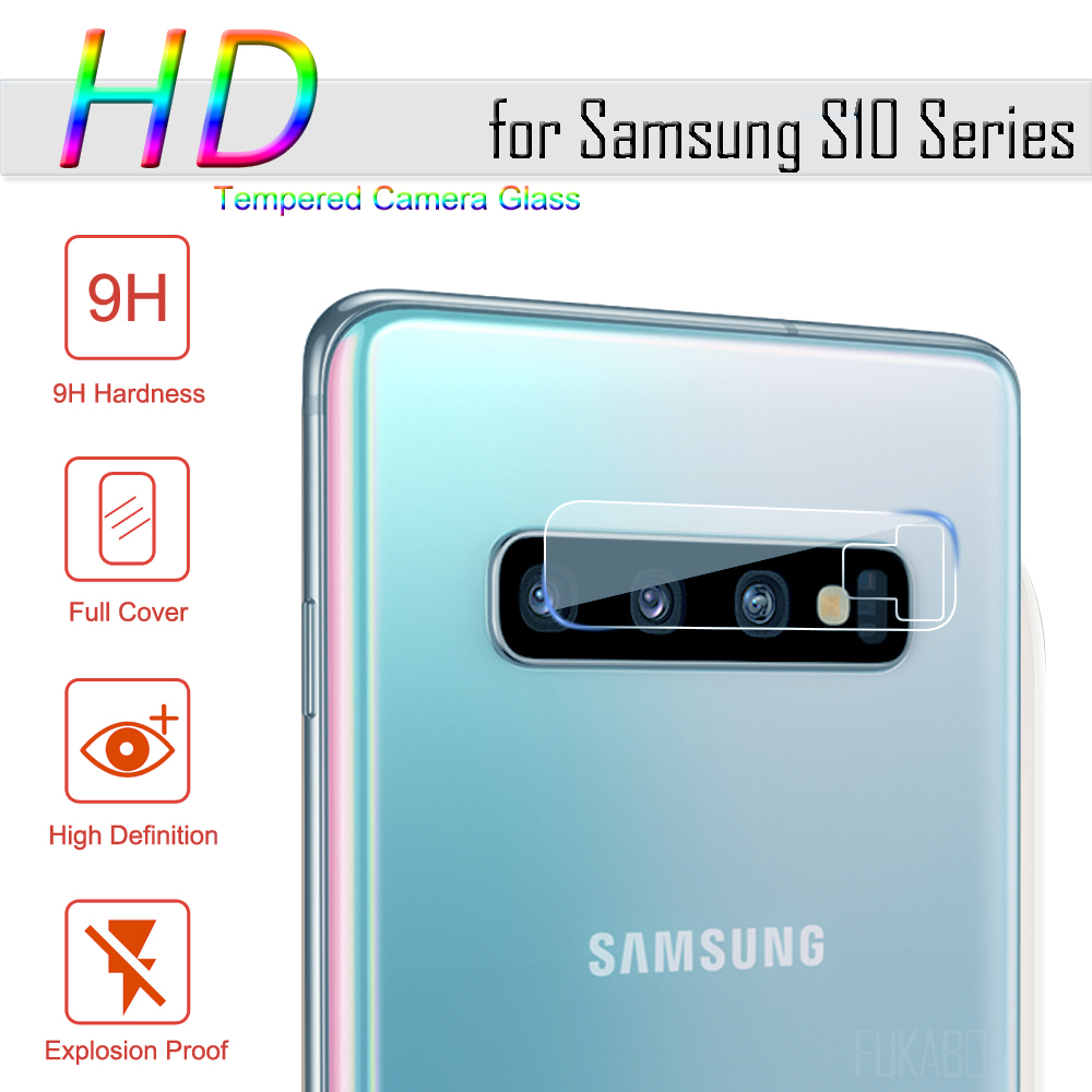 Tempered Glass For Samsung Galaxy A10 A50 A20 S10 S9 Plus Glass Protective Camera Lens Glass Protector For Samsung S10E S8 Plus