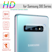 Tempered Glass for Samsung Galaxy A10 A50 A20 S10 S9 Plus Glass Protective Camera Lens Glass Protector for Samsung S10E S8 Plus(China)
