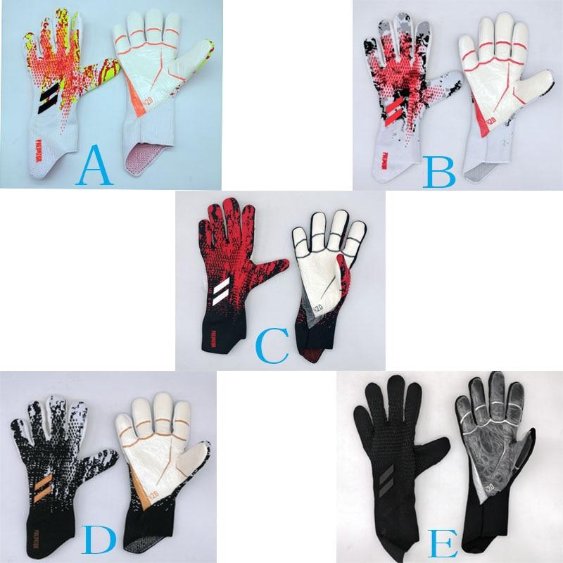 Goalkeeper-Gloves Latex Soccer Football Predator No-Finger-Protection Professional 4mm