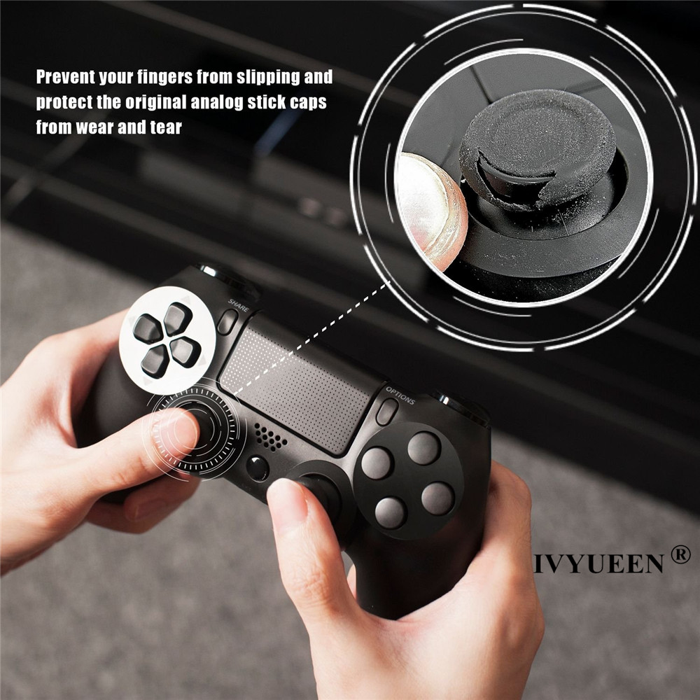 for PlayStation 4 PS4 PRO Slim controller silicone grips cap cover 03