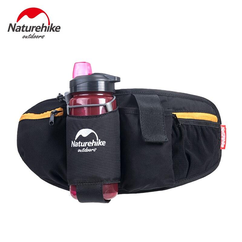 Naturehike Outdoor Sports Running Waist Bag Pockets Hiking Riding Kettle Pockets Multi-function Mobile Phone Waist Pack