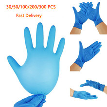 Disposable Nitriel Latex Synthetic Gloves Safety Work Glove Food Prep Cooking Gloves  Kitchen  Waterproof Service Cleaning