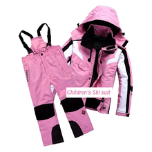 Family Matching Clothes Children's Ski Suit Suitable for Outing Camping Mountain Climbing Ice Skating Cross-Country Skiing