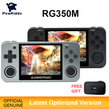 Powkiddy RG350 Handheld Game Console RG350M Metalen Shell Console Open Source Systeem 3.5 Inch Ips Scherm Retro Ps1 Arcade 3D games