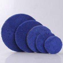 3/4/5/6 дюйма, 2 шт., набор для полировки из микрофибры, наборы для полировки воском, микро-волокно для полировки автомобиля, полировальный коври...