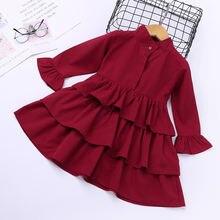 Mudipanda платья для девочек красное платье нарядные с принтом
