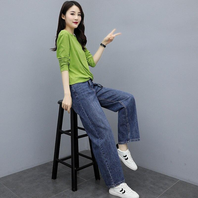 Cool Slimming Slim Fit Versatile Elegant Casual Elegant Set/Suit Skirt 2019 Autumn Trend Simple