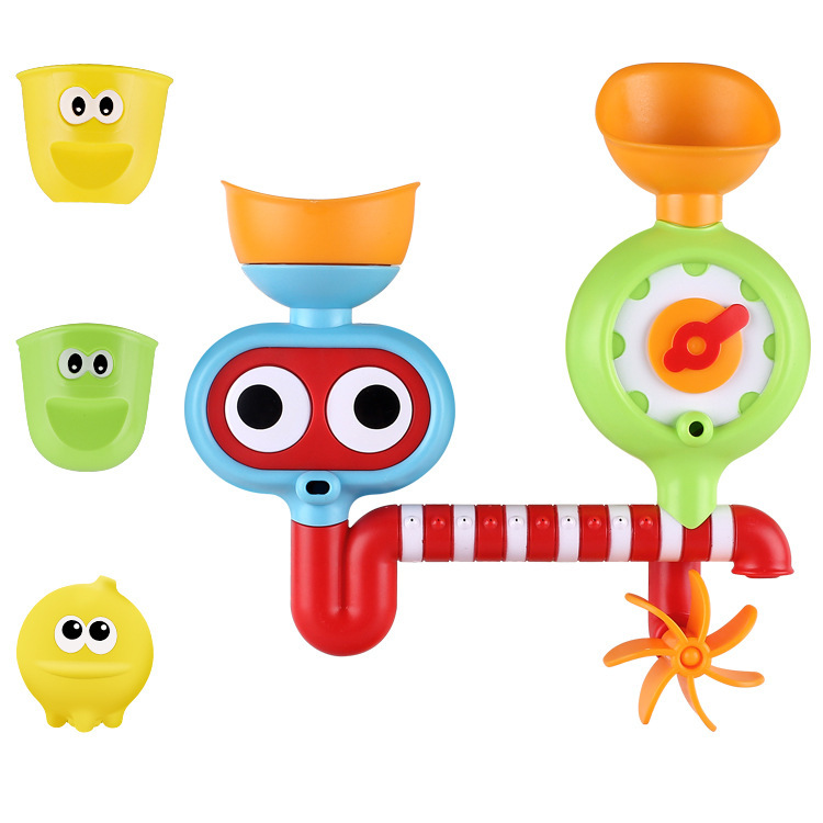 Children Creative Water Spray Toys Bath Partner Water Spouting Rotary Table Bathroom Bath Toy Parent And Child Water Toys