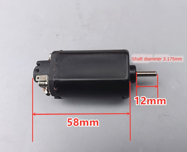 Gearbox 480 High-Speed High Torque Motor Water Electric Tool Motor DC8.4V High-Power DC Short Axis Motor