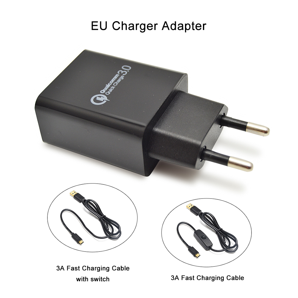 Raspberry pi 4B  5V 3A EU Charger Adapter USB Charger Power Home Travel Adapter Charger