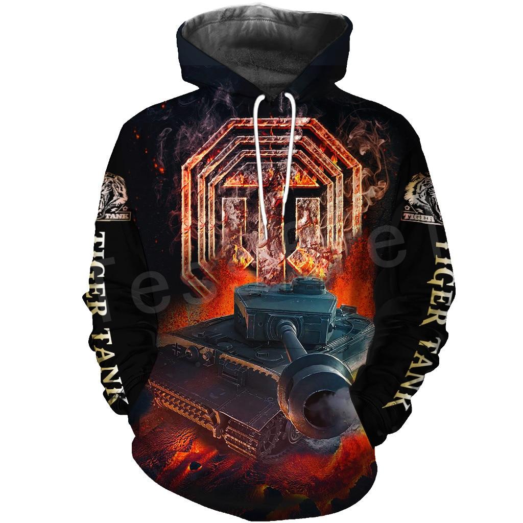 Tessffel Hot Games World Of Tanks Animal Tank Funny NewFashion Tracksuit 3DPrint Zipper/Hoodies/Sweatshirt/Jacket/Men/Women T-6