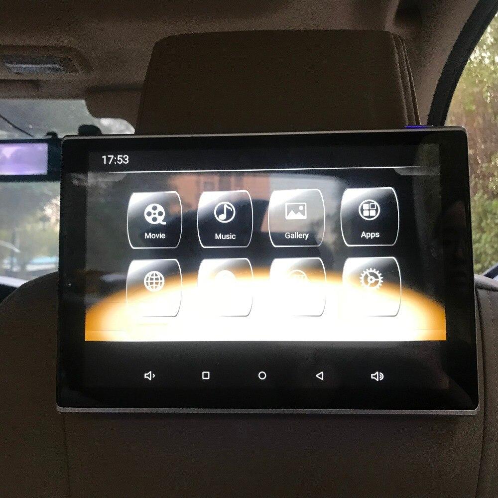 Автомобильная электроника интеллектуальная система Мультимедиа Видео плеер ТВ экран для Cadillac Android 7,1 подголовник с монитором 11,8 дюймов