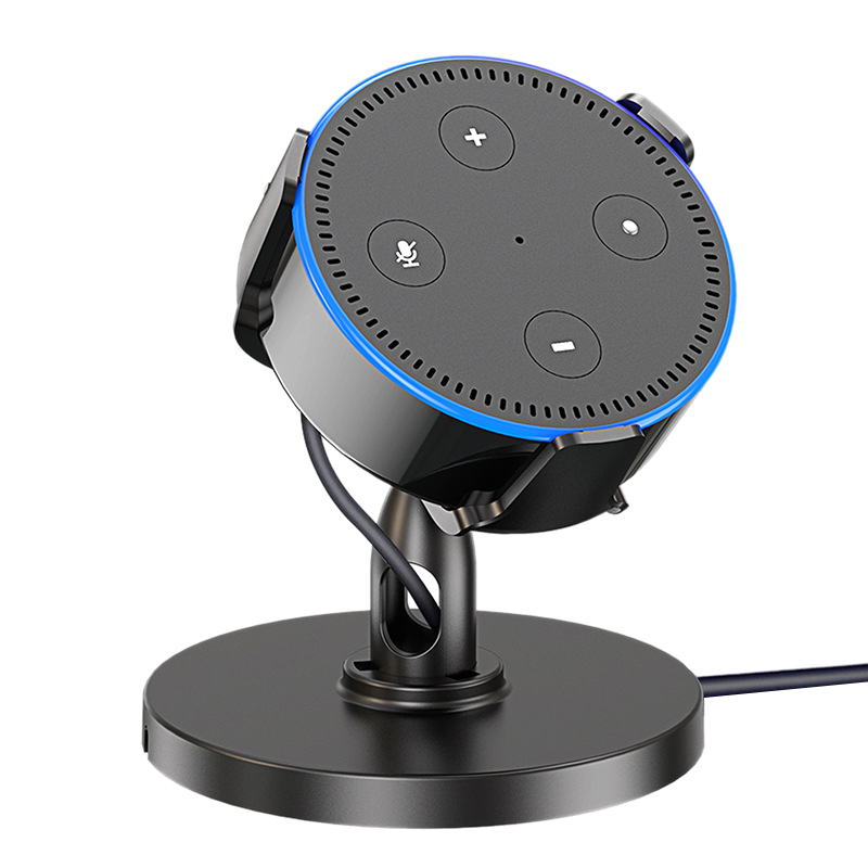 Table Holder For Amazon Echo Dot 2Nd Table Holder 360 ° Adjustable