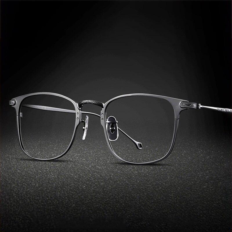 Vazrobe Titanium Eyeglasses Frame Men 10g Glasses Man Spectacles For Optic Receipt Eyewear Nerd Progressive Photochromic Eyewear