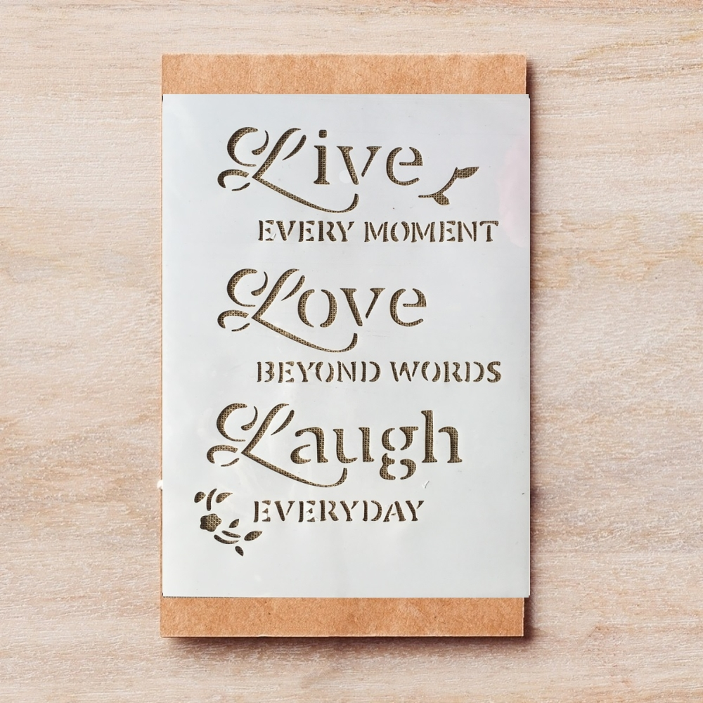 29*21cm A4 Love Words DIY Layering Stencils Wall Painting Scrapbook Coloring Embossing Album Decorative Template