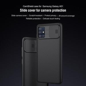 Image 3 - for Samsung Galaxy A51 A71 Case NILLKIN CamShield Case Slide Camera Cover Protect Privacy Classic Back Cover For Samsung A51 A71