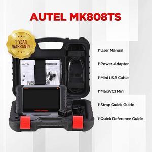 Image 5 - AUTEL MaxiCOM MK808TS TPMS automotive diagnostic tool TPMS programming tool tire pressure tool obd2 scanner pk mp808ts mk808bt