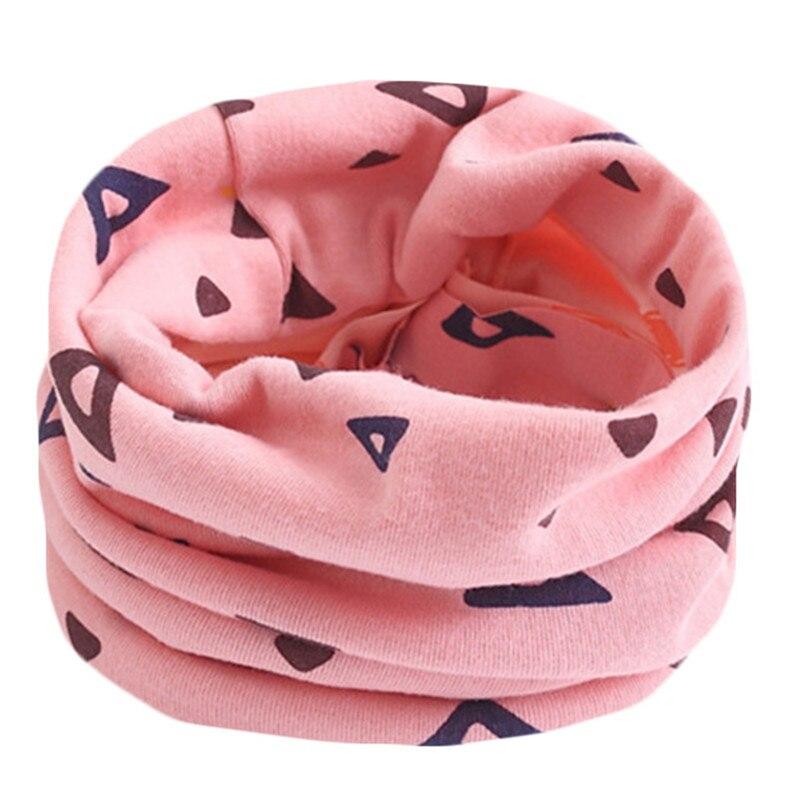 Весенне-осенне-зимний детский хлопковый шарф для От 0 до 10 лет, Детские шарфы с героями мультфильмов, модный теплый воротник - Цвет: 06