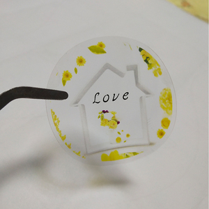 Image 5 - Printing Personalized Logo Label Custom Transparent  Stickers PVC Vinyl Paper KraftPaper Cake  Sticker eyelashes  Labels Brand