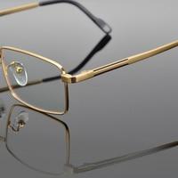Titanium Brand Vintage Men's Eyeglasses Retro Square Optical Glasses Frame Men Clear Myopia Spectacles Frames Man Eyewear Oculos