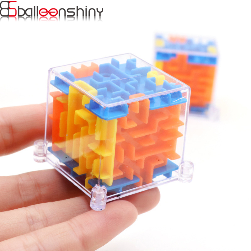 BalleenShiny 3D Puzzle Baby Toys Maze Magic Cube Funny Toy For Kids Baby Development Early Educational Toys Christmas Gifts