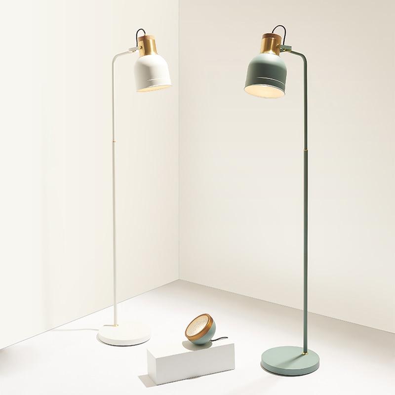 minimalista criativo lampada de assoalho quarto sala estar personalidade atmosfera simples nordic led e27 lampada assoalho