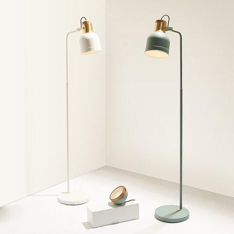 minimalista criativo lampada de assoalho quarto sala estar personalidade atmosfera simples nordic led e27 lampada