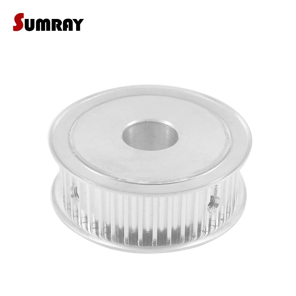 SUMRAY 5M 45T Timing Belt Pulley 8/10/12/15/17/20mm Bore Toothed Pulley Wheel 16mm Width Gear Pulley For 15mm Timing Belt Pulleys     -