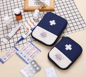 Image 4 - ポータブル屋外の救急箱バッグポーチ旅行医学パッケージ緊急キットバッグ小さな医学ディバイダーストレージオーガナイザー