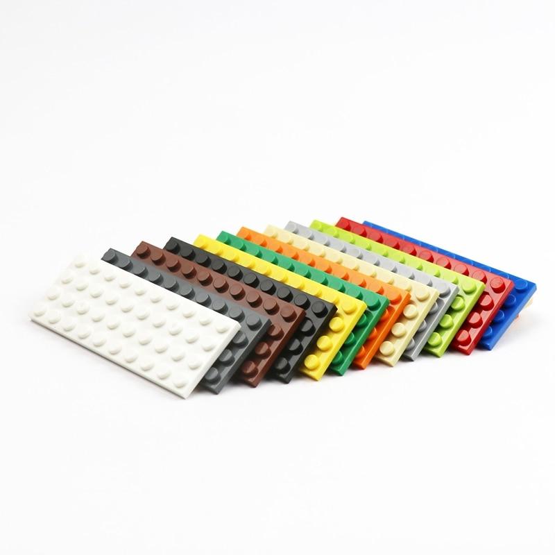 Конструктор Детский развивающий 4x10, сборные детали, 3030 пластины, 10 шт.