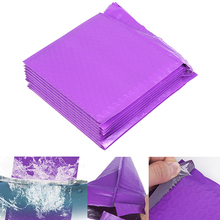 Envelope-Bags Bubble-Mailer Poly Purple Padded Shockproof Courier 10pcs Color