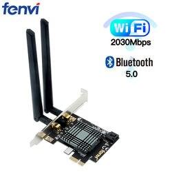 Dual Band 2100Mbps Wireless Desktop di Intel 9260 Pci-E Wifi Bluetooth 5.0 Adattatore 802.11ac 2.4G/5G MU-MIMO 9260NGW per Finestre 10