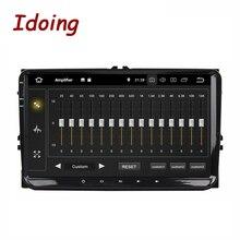 Idoing 2 ディンアンドロイド 9.0 カーマルチメディアプレーヤー車フォルクスワーゲンシラジオティグアンパサートb7 b6 gps