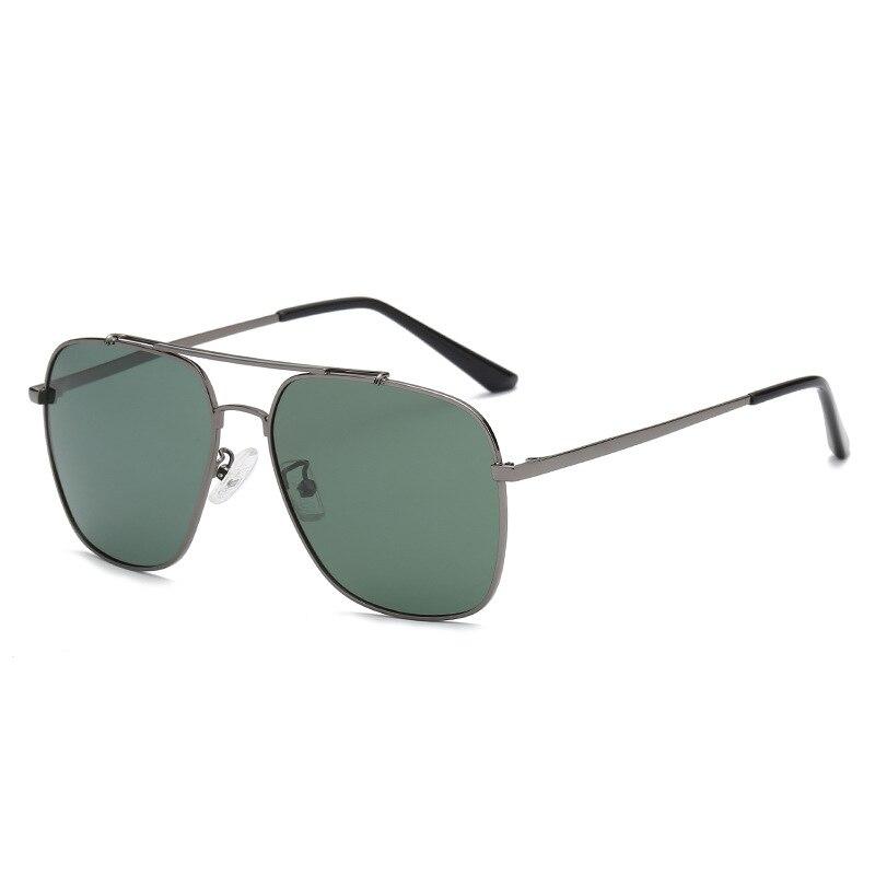 Поляризационные солнцезащитные очки для мужчин и женщин, фирменный дизайн, Винтажные Солнцезащитные очки пилота для мужчин, Ретро стиль