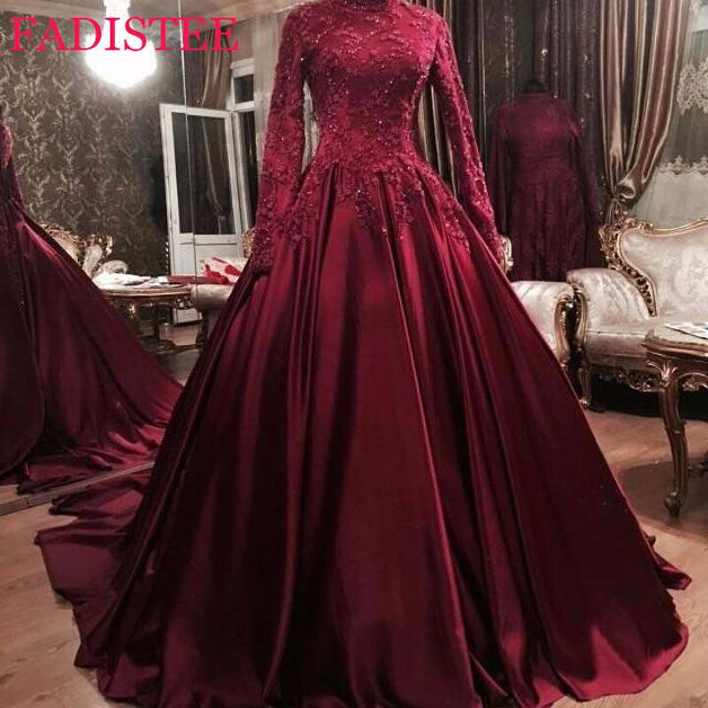 Muslim Prom Dresses Formal Evening Party Vestido De Festa Party Dresses Robe De Soiree вечерние платья فساتين السهرة for Women
