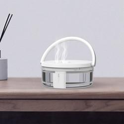 1.2L nawilżacz mini oczyszczacz powietrza z LED Light podwójny Spray nawilżacz powietrza Atomizer o dużej pojemności dla Home Office w Nawilżacze powietrza od AGD na