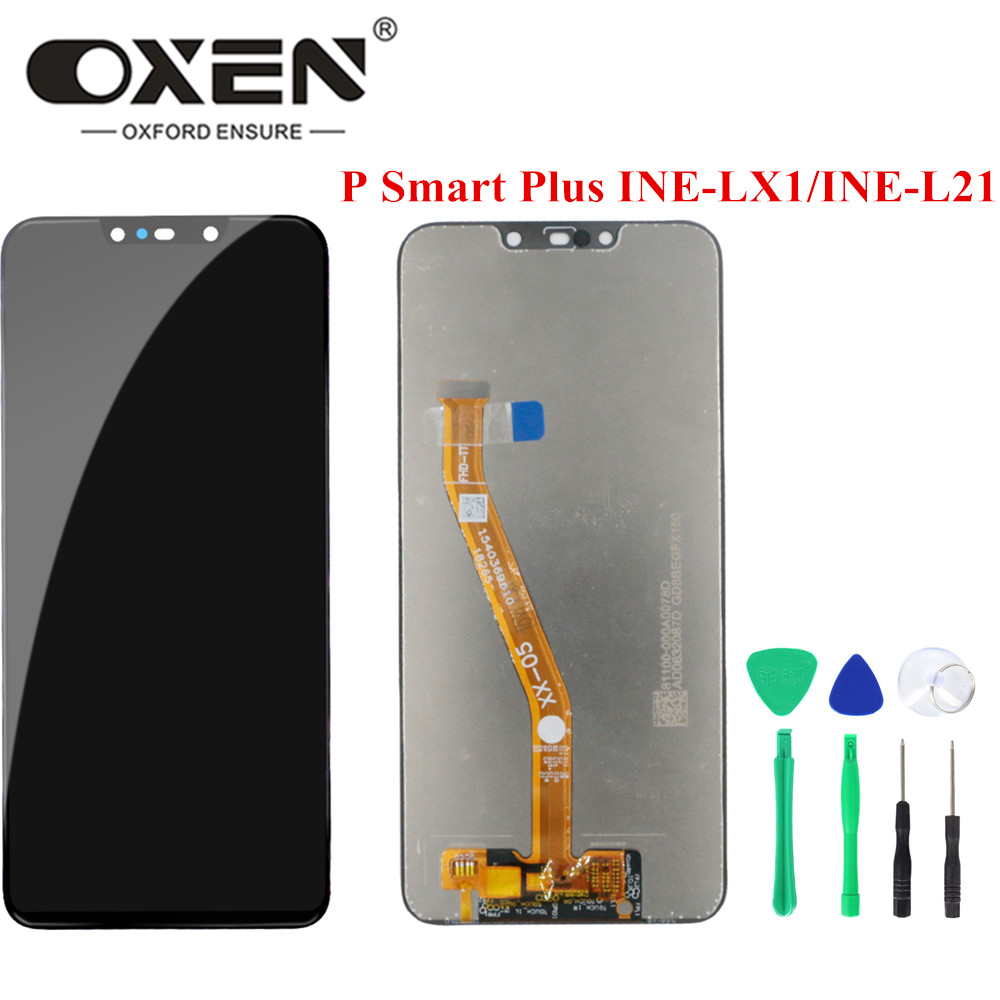 OXEN 6.3inch LCD Display for Huawei P Smart Plus Nova 3i INE LX1 / INE L21 LCD Touch Screen Digitizer Assembly Replacement Panel|Mobile Phone LCD Screens| |  -