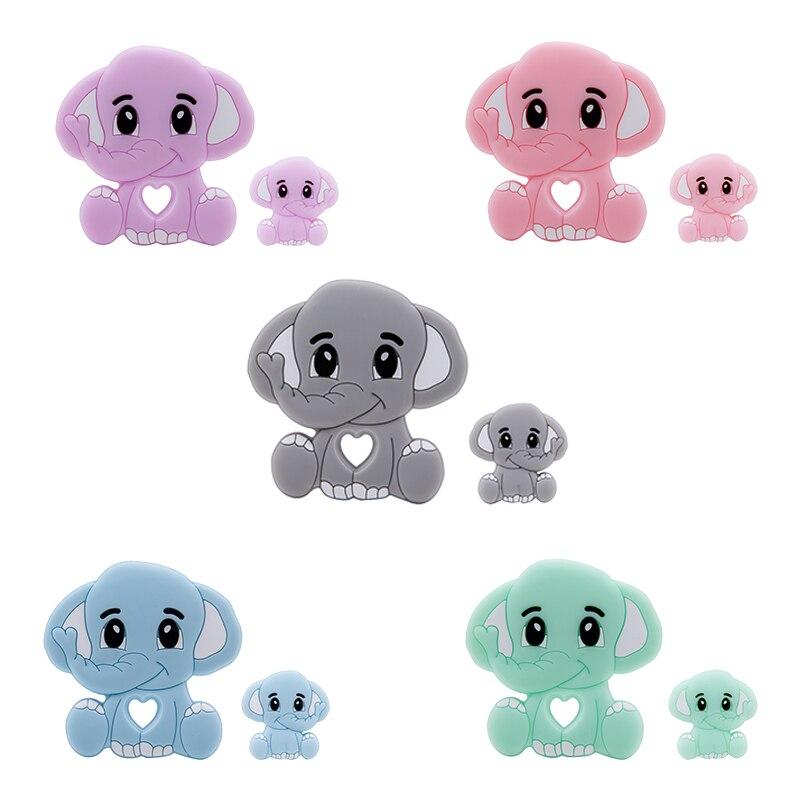 Animal Silicone Shower Food-Grade Elephant Tiny Baby Gifts Let's-Make Bpa-Free Cartoon