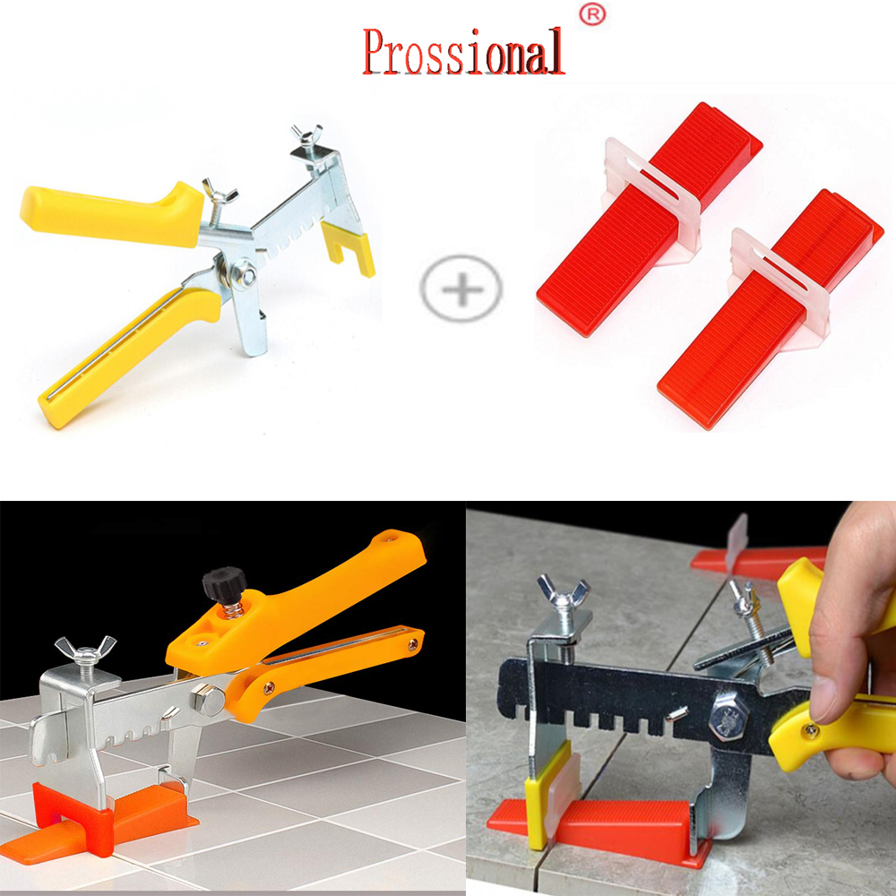 Top Selling Floor Installation Tools- Wall Tile Paving Locator Tool Clip Spacers Plier Floor Installation Tile Alignment Tools