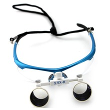 3.5X Binocular Dental Loupe Surgical Dentists Magnifier Medical Operation Loupe все цены