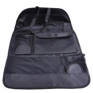 Image 2 - VODOOL Auto Back Seat Organizer Cover Opbergtas Waterdichte Multi Pocket Opknoping Pouch Netto Diverse 58cm x 38cm auto Accessoires