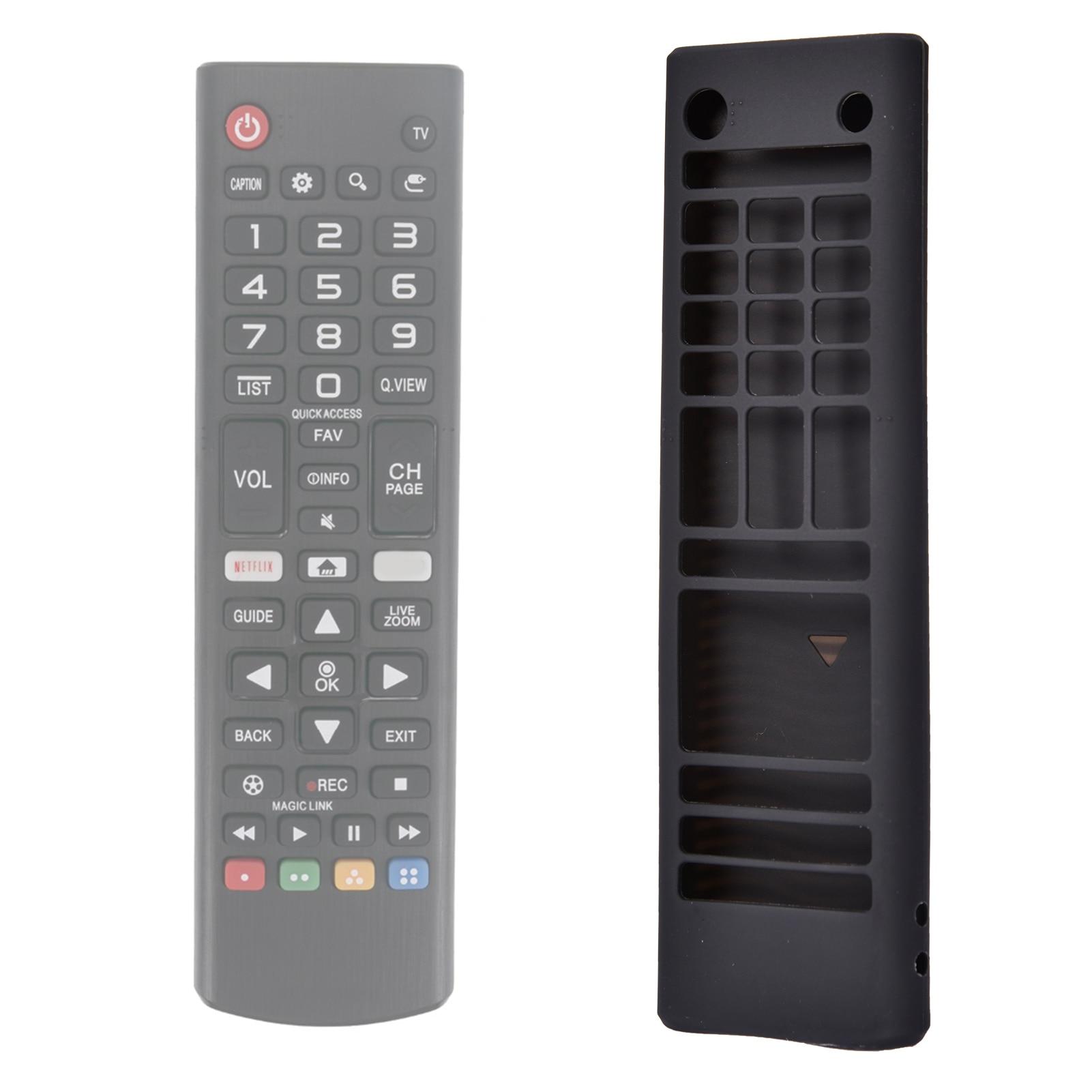 Capa para lg akb75095307, akb74915305, akb7537560 smart tv remoto para lg tv remoto caso capa protetora de silicone titular pele