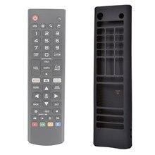 Для LG TV пульт дистанционного управления чехлы силиконовый чехол защитный чехол держатель кожи для LG AKB75095307B74915305, AKB7537560 Smart TV пульт дистанцио...