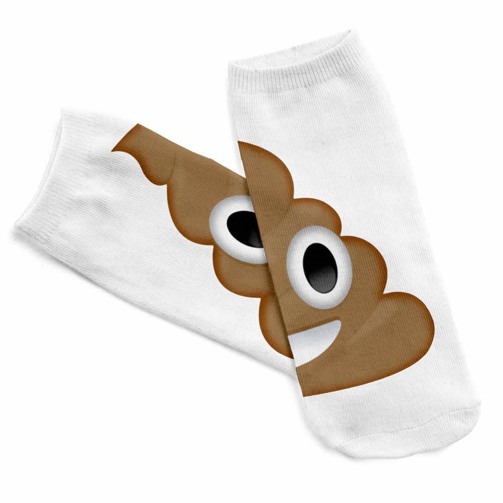 1 זוגות נוח נעלי בית גרב בלתי נראה הדפסת גרבי הדפסת מצחיק אסתטי גרבי stopki skarpetki damskie יוניסקס skarpetki