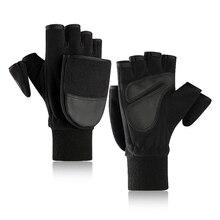 Зимние флисовые теплые перчатки для контактного экрана мужские откидные Чехлы относятся к плюс бархатные утолщенные перчатки для фотосъемки на открытом воздухе