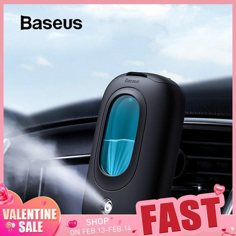 Baseus Car Air Humidifier Portable Diffuser With Magnetic Car Air Vent Mount Holder Aromatherapy Air Freshner Mini Air Purifier