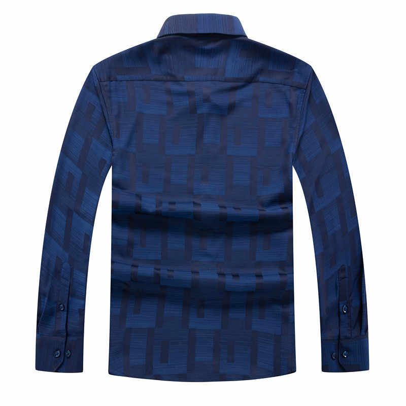 Duży rozmiar wiosenny i jesienny nowy nadrukowana moda koszule z długim rękawem mężczyźni camisa męskie slim koszule w kwiaty vintage lniana codzienna koszula męska