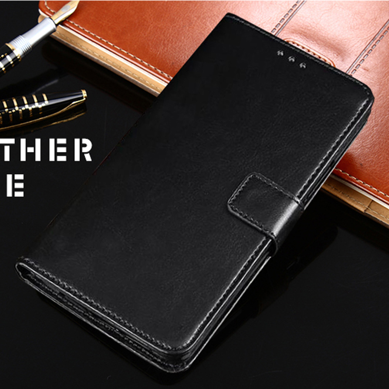 Luxury Flip Leather Wallet Case for Xiaomi Mi9 Pro SE A2 Lite 5C Prime Mix 3 Note 2 2S Mi6 5S Plus Black Shark Patterned Cover