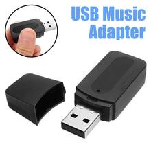 цена на Mini bluetooth Audio AUX Car Receiver Adapter 3.5mm USB Wireless bluetooth Aux Audio Stereo Car Music Receptor For iPad Speaker